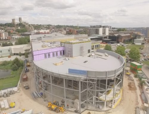 Issac Newton Building – University of Lincoln in progress